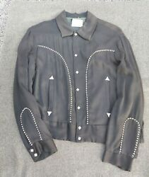 Vintage 1940and039s 1950and039s Honky Tonk Made In California Western Wear Light Jacket