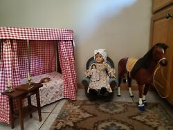 American Girl- Felicity Pleasant Comp. Plus Accessories Mini Doll, Bed, And Penny