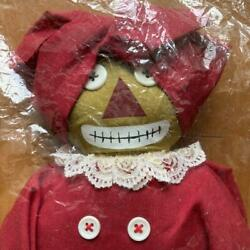 Ann And Andy Raggedy Bellindy Soft Plush Doll Stuffed Toy Discontinued Rare Mint