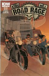 Road Rage 1 Cover B - Idw 2012 First Printing - Stephen King Joe Hill Hbo Max