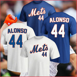 New Pete Alonso 44 New York Mets Home Run Derby Winners Name And Number T-shirt