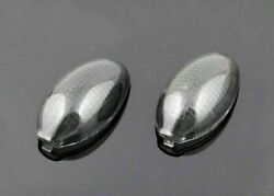 Front Turn Signals Lens Fit For Ducati Monster 2006-2010 Smoke