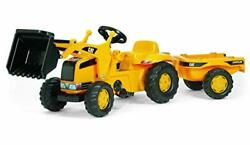 Rolly Toys Cat Construction Pedal Tractor Front Loader Tractor With Detachable