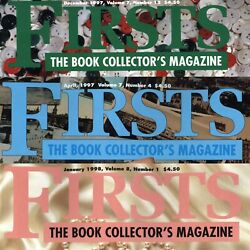Firsts The Book Collector's Magazine - Various Issues - Selling Indiviudally