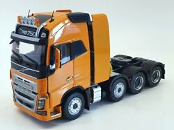 Marge Models 1/32 Scale Model Truck 1915-03 - Volvo Fh16 8x4 - Yellow