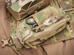 Psigear Tactical Ifak Pouch W/ Rapid Holder Medical Contents Not Included