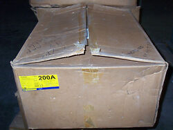 New Square D Hu364df 200 Amp 600v Non Fusible Disconnect Nema 4x Safety Switch