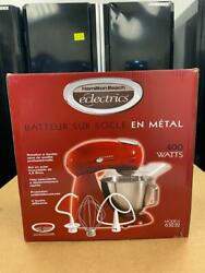 Hamilton Beach Eclectrics 4.5 Qt. 12-speed Red All-metal Stand Mixer 63232