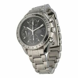 Omega/omega Speedmaster Date 3513.50 Ss Stainless Black Dial At Wristwatch Mens