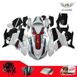 Ft White Fairing Fit For Kawasaki Ninja Zx14r 2006-2011 Injection Mold Abs A034