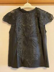 Hysteric Glamour Hys Butterfly Woman Lace T-shirt Women's Tops 75292