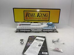 Mth Railking 30-20635-1 George H Bush Sd70ace Diesel Eng. Ps.3 O Gauge Used 4141