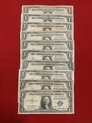 1935 E F G 1 Silver Certificate Missing Andldquo In God We Trust Lot 10. Fair