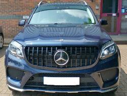 X166 Gls Amg Panamericana Grille Gloss Black Models From 2016 Onwards