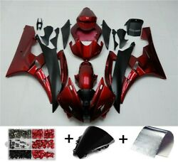 Abs Plastic Fairing Fit For Yamaha Yzf R1 2000-2014 Yzfr6 1998-2016 F5