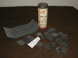 Vintage 5 1/2 High Sears Old Car Bicycle Rubber Tire Repair Patch Kit