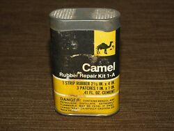 Vintage 3 1/2 High Camel Bicycle Rubber Tire Repair Kit 1-a