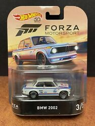 Hot Wheels Premium Forza Motorsport Bmw 2002 With Protector