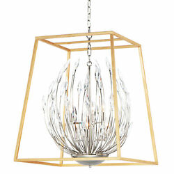 Maxim 32406bc Bouquet 6 Light 25w Taper Candle Chandelier - Polished Nickel /