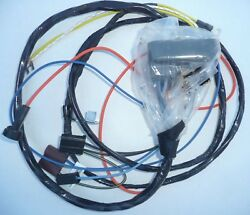 1970 Chevelle Engine Wiring Harness Wire 396 454 Th400 Auto Transmission Ch01495