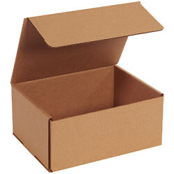9 X 7 X 4 Kraft Corrugated Mailing/shipping Boxes Ect-32b - 500 Pieces