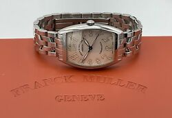 Franck Muller Casablanca 2852 Stainless Steel Automatic Watch W/ Box