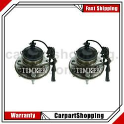 2 Timken Wheel Bearing And Hub Assembly Front For Ford Thunderbird