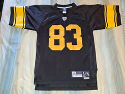 Heath Miller 83 Pittsburgh Steelers Throwback Premier Football Jersey Small