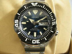 Used Goods Seiko Watches Automatic Winding Prospex Diver 200m Waterproof Kanji