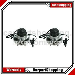 2 Timken Wheel Bearing And Hub Assembly Front For Ford Crown Victoria