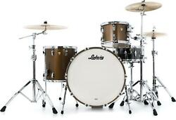 Ludwig Classic Maple Pro Beat 24 3-piece Shell Pack - Vintage Bronze Mist
