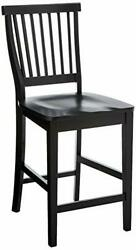 Arts And Crafts Black Bistro Stool By Home Styles