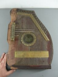 Antique Hc Marx Guitarchimes Pianophone Auto Harp Zither 33 String Made In Usa