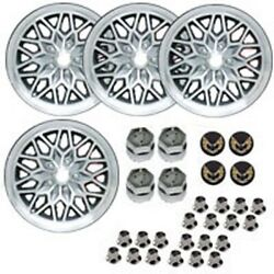 Year One Wheels Gsf1794kg Cast Aluminum Snowflake Wheel Kit 4 17 X 9 With 6-1/