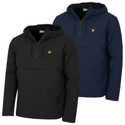 Lyle And Scott Mens Thermal Water Repellent Phone Pocket Hooded Jacket 60 Off Rrp