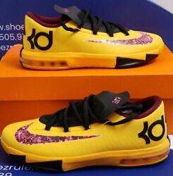 Nike Kd 6 Peanut Butter And Jelly Kids Size 6y