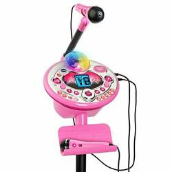 Vtech Kidi Star Karaoke System 2 Mics With Mic Stand And Ac Adapter, Pink