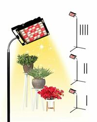 Grow Light With Stand, 18-72 Inches, 250w Full Spectrum Led Floor Warm White