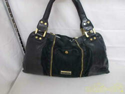 Jimmy Choo Leather Handbags Black Thread There Is Difficulty In The Hand Women
