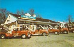 Michaels Arco Gas Station Tow Trucks Ct Business Card 2.25x3.5 A23 Mint