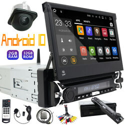 Single 1din Car Dvd Player Android 10 7in-dash Touch Screen Radio Gps 2gb 32gb