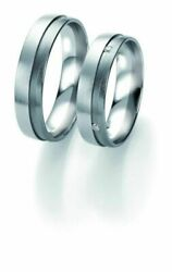 Wedding Rings Breuning Black And White Collection 6307/6308