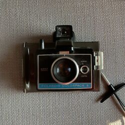 Vintage Polaroid Colorpack Ii Land Camera Instant W/ Wrist Strap