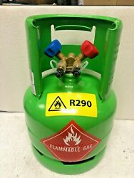 Refrigerant Recovery Tank, R290, Propane, Dot Approved R290, 7 Lbs. Capacity New