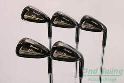 Cleveland Cg16 Tour Black Pearl Iron Set 6-pw Steel Stiff Right 38.0in