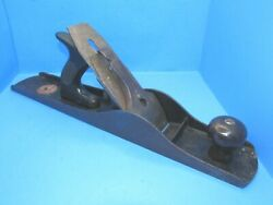 Diamond Edge No 6c Wood Plane W/ Partial Decal And Rubber Handle Made By Union Mfg