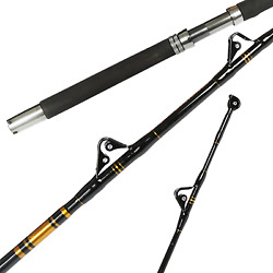 1-piece Saltwater Offshore Heavy Trolling Rod Big Game Roller Boat Fishing Pole