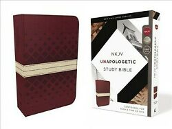 Unapologetic Study Bible New King James Version, Red/tan, Imitation Leather...
