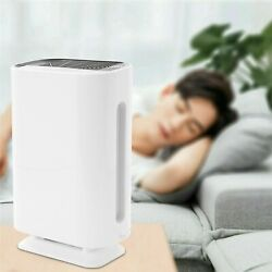 110v 60w Large Room Air Purifier Office Air Cleaner Hepa Filter Remove Odor Mold
