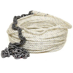 Imtra Boat Anchor Line Spa-i2h6a   W/ Chain Rode 150 Ft X 9/16 Inch
